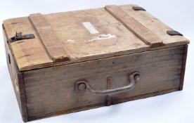 LARGE WWII SECOND WORLD WAR THIRD REICH NAZI GERMAN AMMO BOX