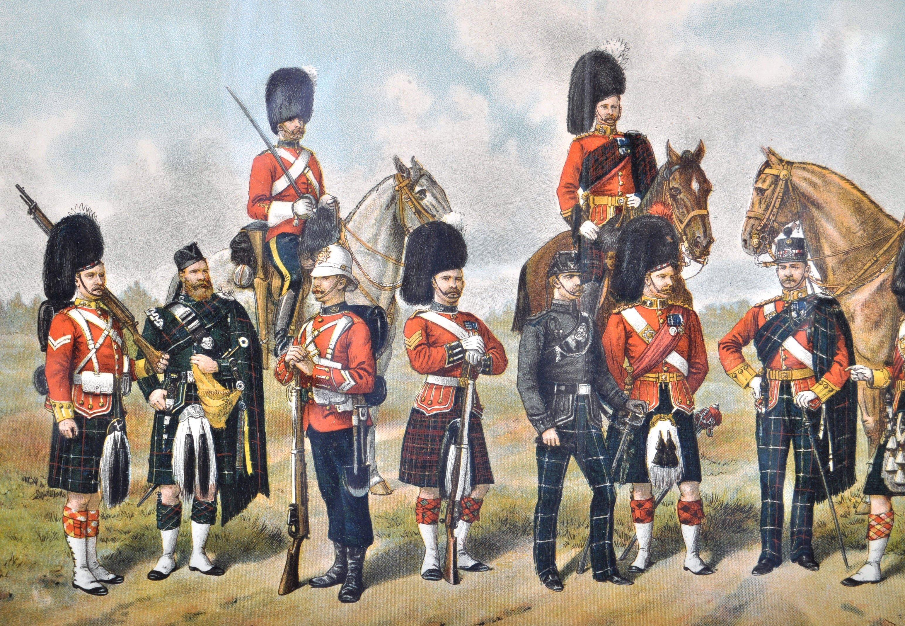 RICHARD SIMKIN - THE SCOTTISH REGIMENTS OF THE BRITISH ARMY - Image 2 of 7