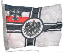 WWI FIRST WORLD WAR TYPE IMPERIAL GERMAN FLAG