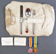 WWI FIRST WORLD WAR MEDALGROUP & EFFECTS - COLDSTREAM GUARDS
