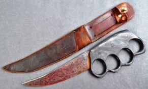 RARE WWI FIRST WORLD WAR TRENCH WARFARE KNUCKLEDUSTER KNIFE