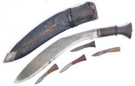 WWI FIRST WORLD WAR PERIOD GURKHA KUKRI KNIFE