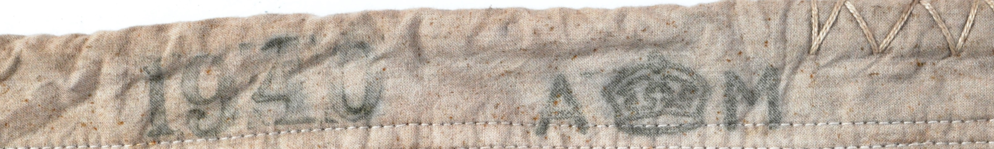 WWII SECOND WORLD WAR TYPE RAF AIRFIELD FLAG - DEBDEN - Image 7 of 8