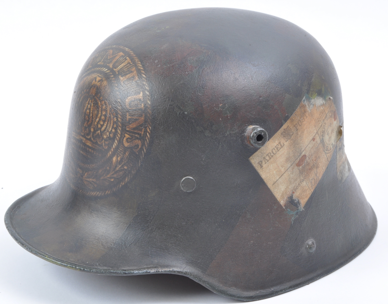 WWI FIRST WORLD WAR M16 CAMOUFLAGE HELMET