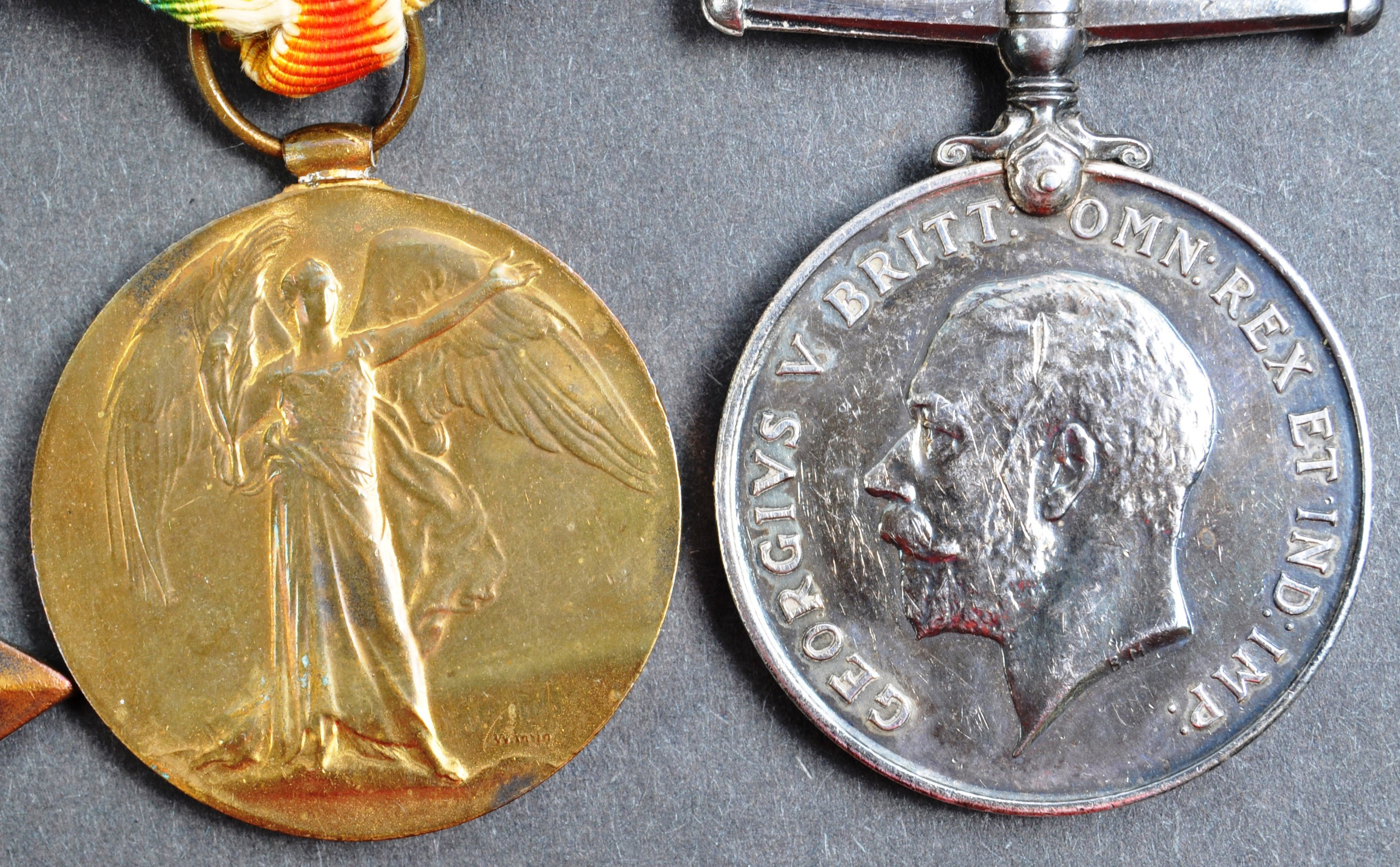 WWI FIRST WORLD WAR MEDAL GROUP - LEADING SEAMAN ROYAL NAVY - Image 3 of 10