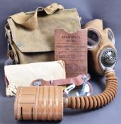ORIGINAL WWII SECOND WORLD WAR BRITISH MK4 RESPIRATOR GAS MASK
