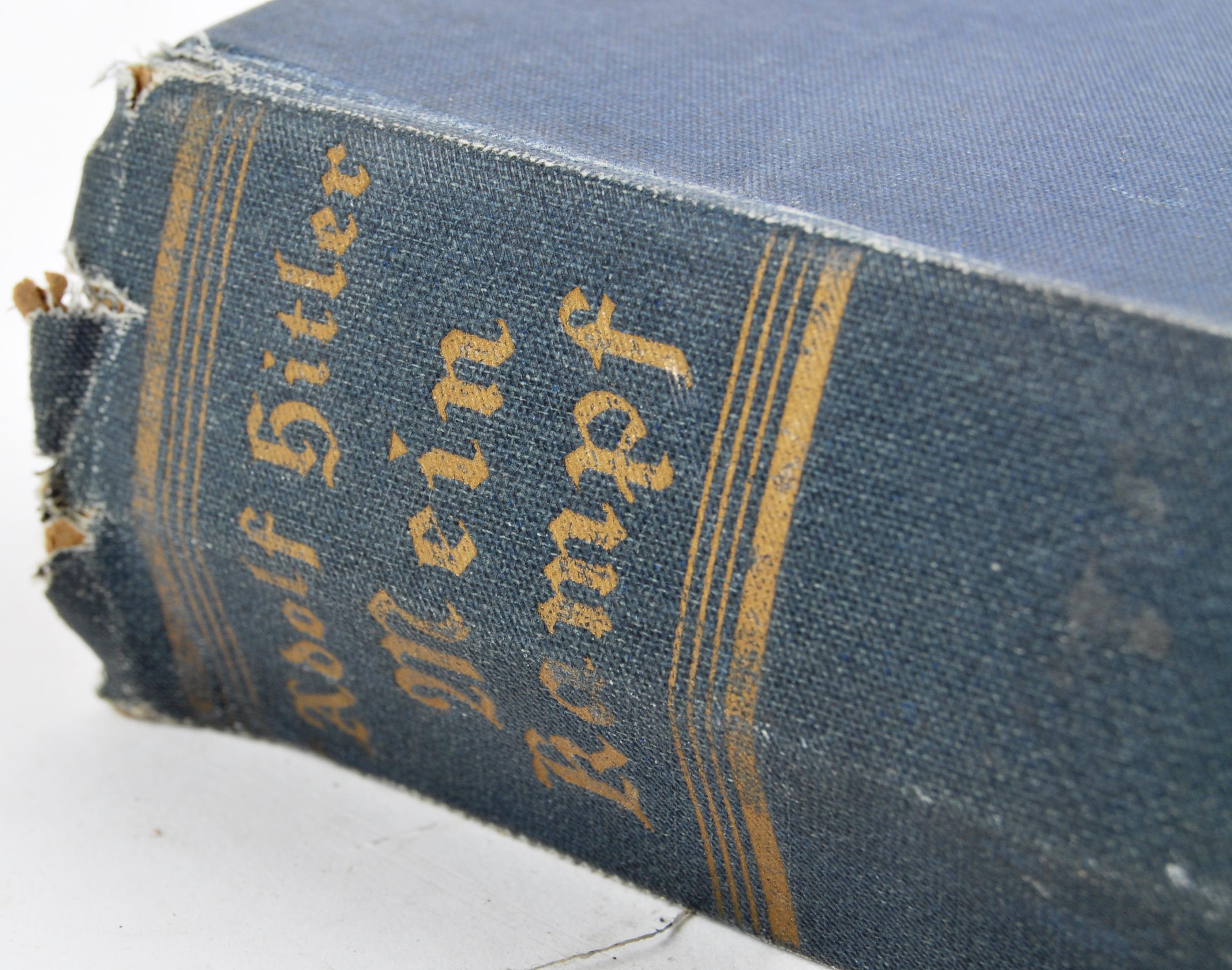 ADOLF HITLER - MEIN KAMPF - 1ST ENGLISH EDITION 1939 - Image 8 of 9