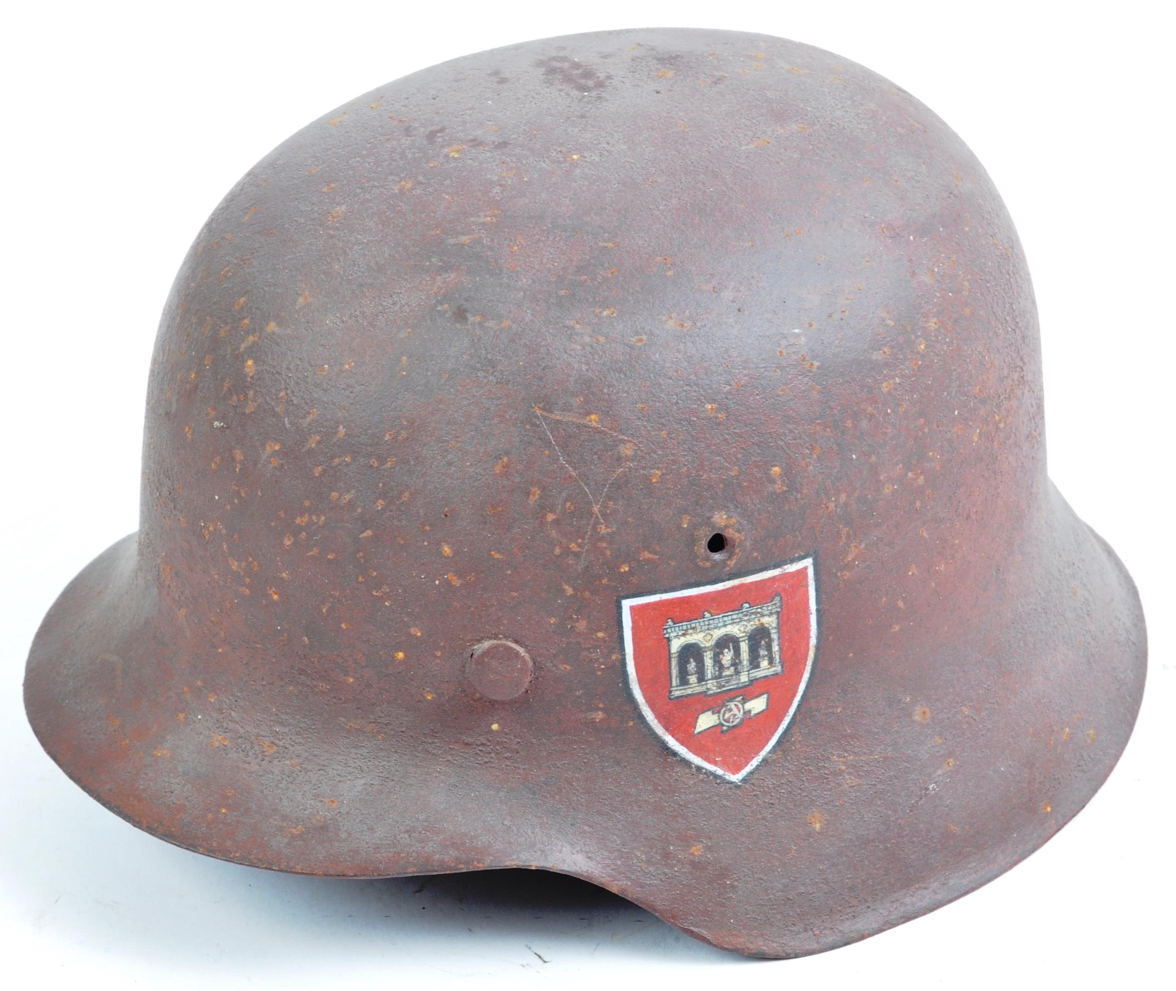 WWII SECOND WORLD WAR THIRD REICH NAZI M42 HELMET