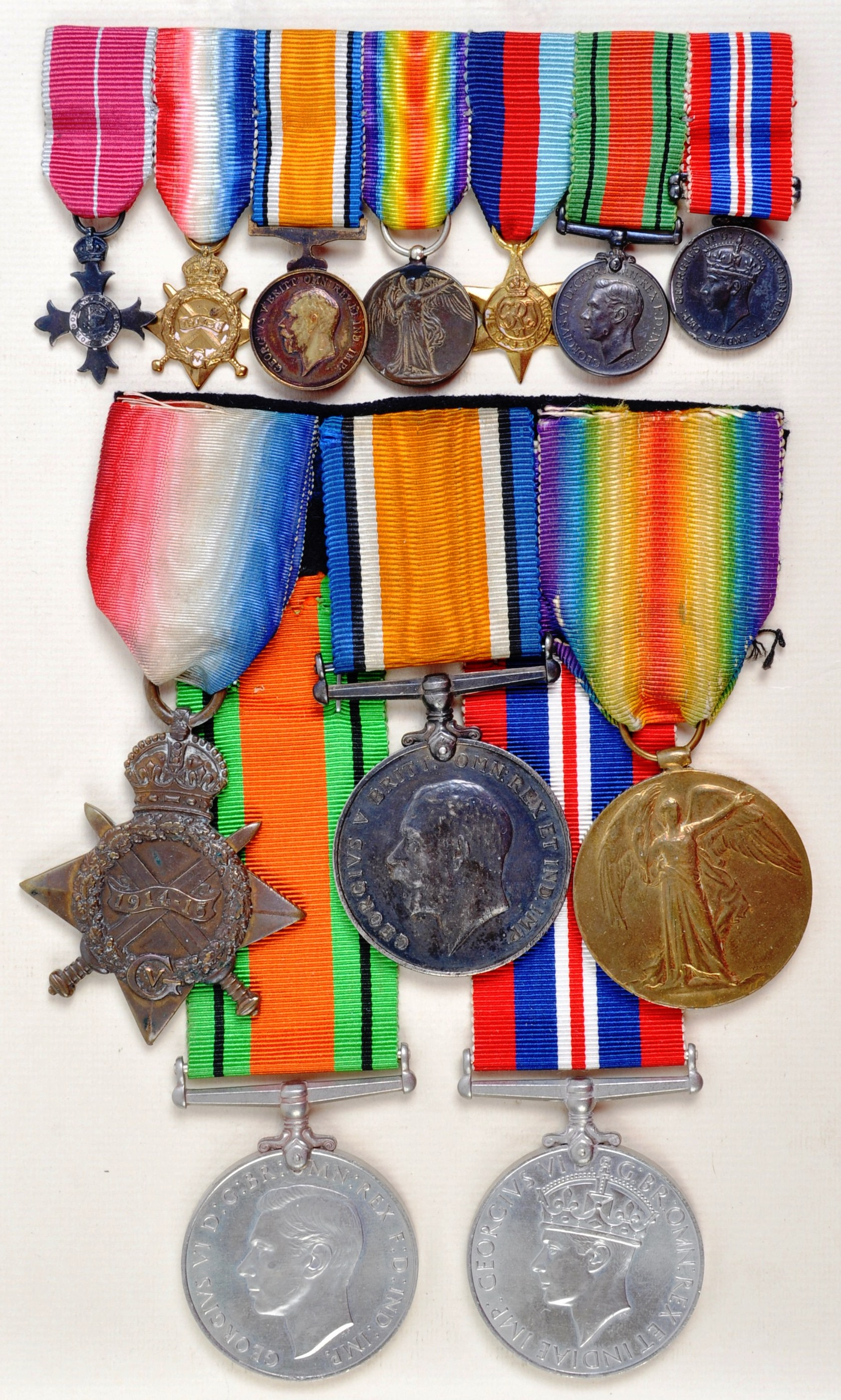 WWI & WWII SECOND WORLD WAR MEDAL GROUP - ROYAL NAVY