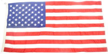 LARGE VINTAGE AMERICAN VALLEY FORGE FLAG COMPANY US FLAG