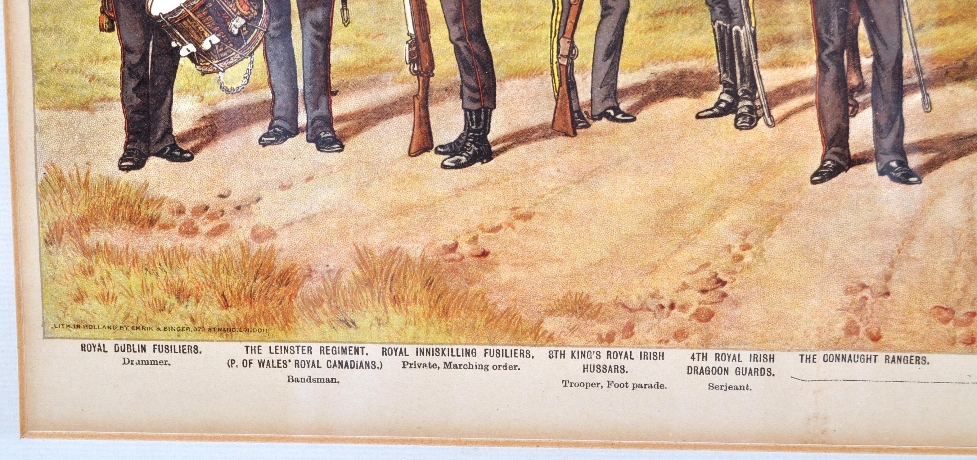 RICHARD SIMKIN - THE IRISH REGIMENTS OF THE BRITISH ARMY - Image 4 of 7