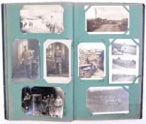 WWI FIRST WORLD WAR (AND EARLIER) GERMAN POSTCARD ALBUM