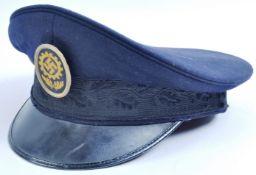 ORIGINAL WWII SECOND WORLD WAR NAZI GERMAN LABOUR FRONT VISOR CAP