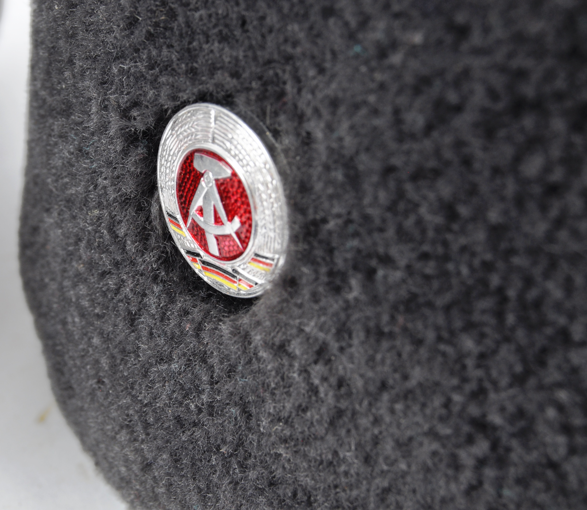 COLLECTION ASSORTED EAST GERMAN NATIONAL PEOPLE'S ARMY HATS - Image 3 of 11