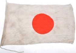 WWII SECOND WORLD WAR INTEREST - VINTAGE JAPANESE RISING SUN FLAG