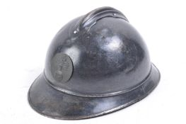 WWI FIRST WORLD WAR M15 PATTERN FRENCH ADRIAN HELMET