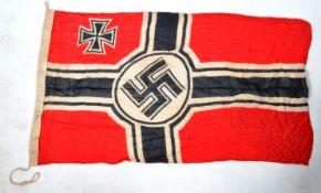 WWII SECOND WORLD WAR TYPE GERMAN NAZI KRIEGSMARINE FLAG