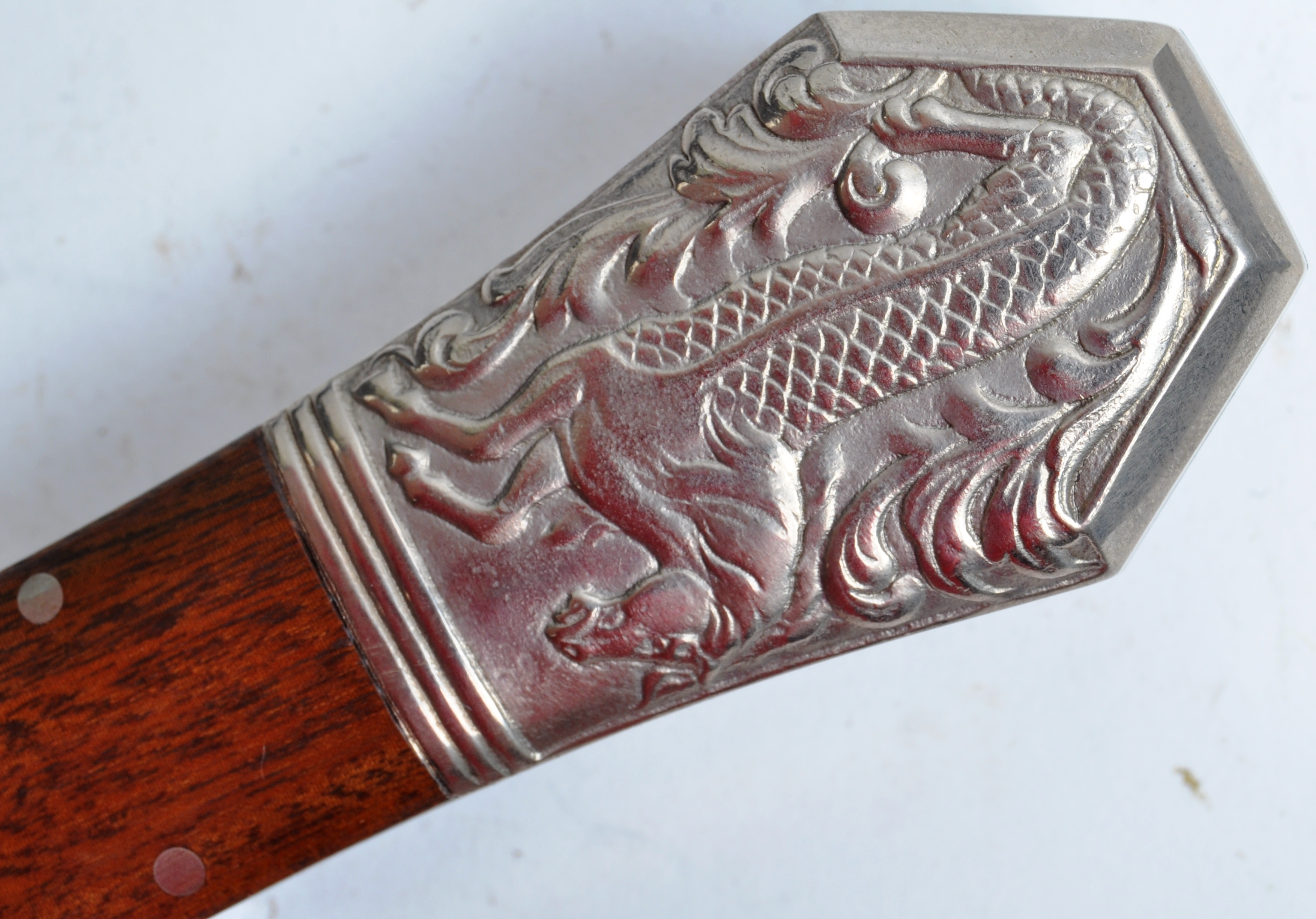 20TH CENTURY PAUL CHEN / HANWEI MADE BOWIE KNIFE - Image 10 of 12