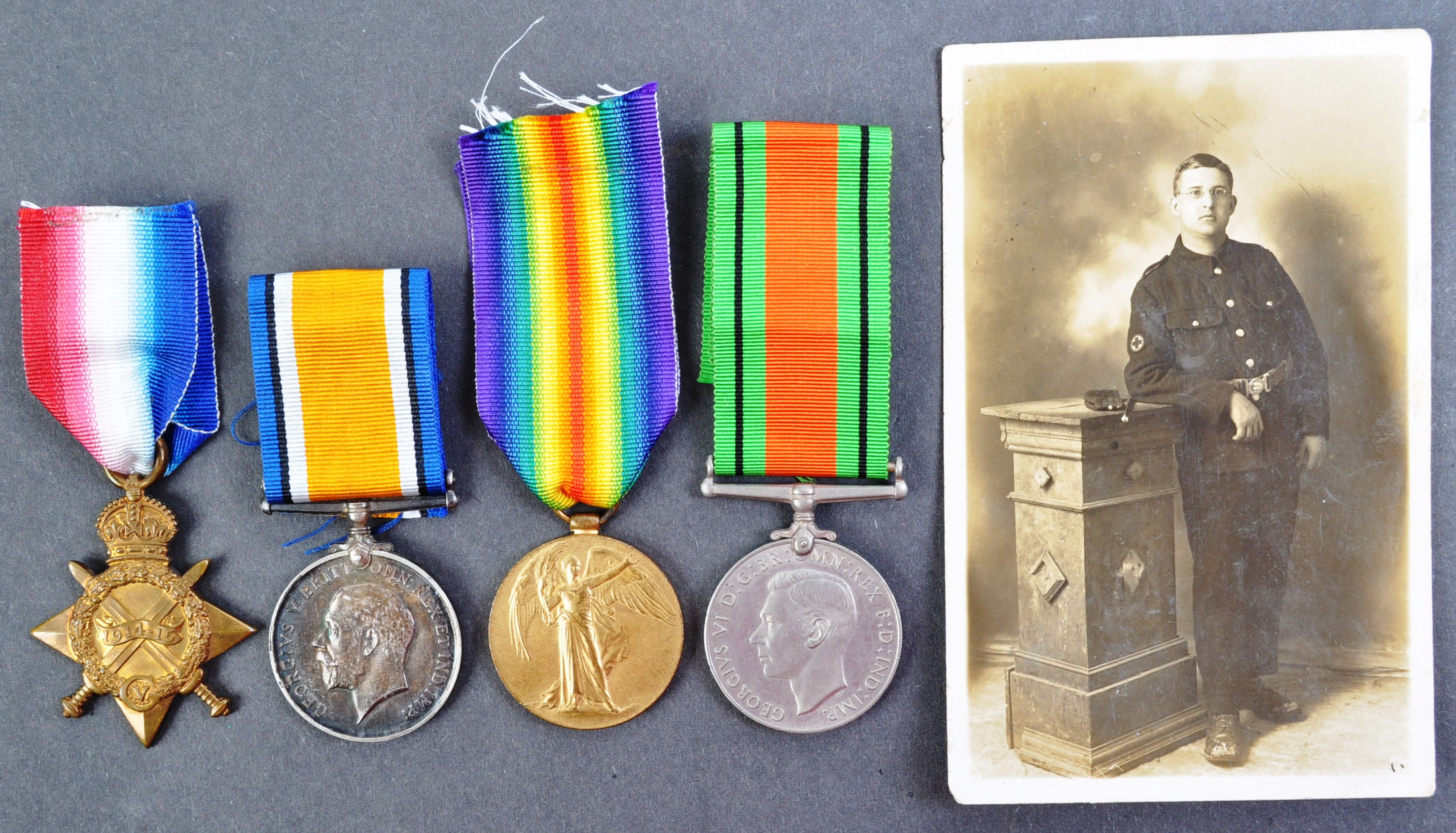 WWI & WWII INTEREST MEDAL GROUP - ACTING SERGEANT IN THE RAMC