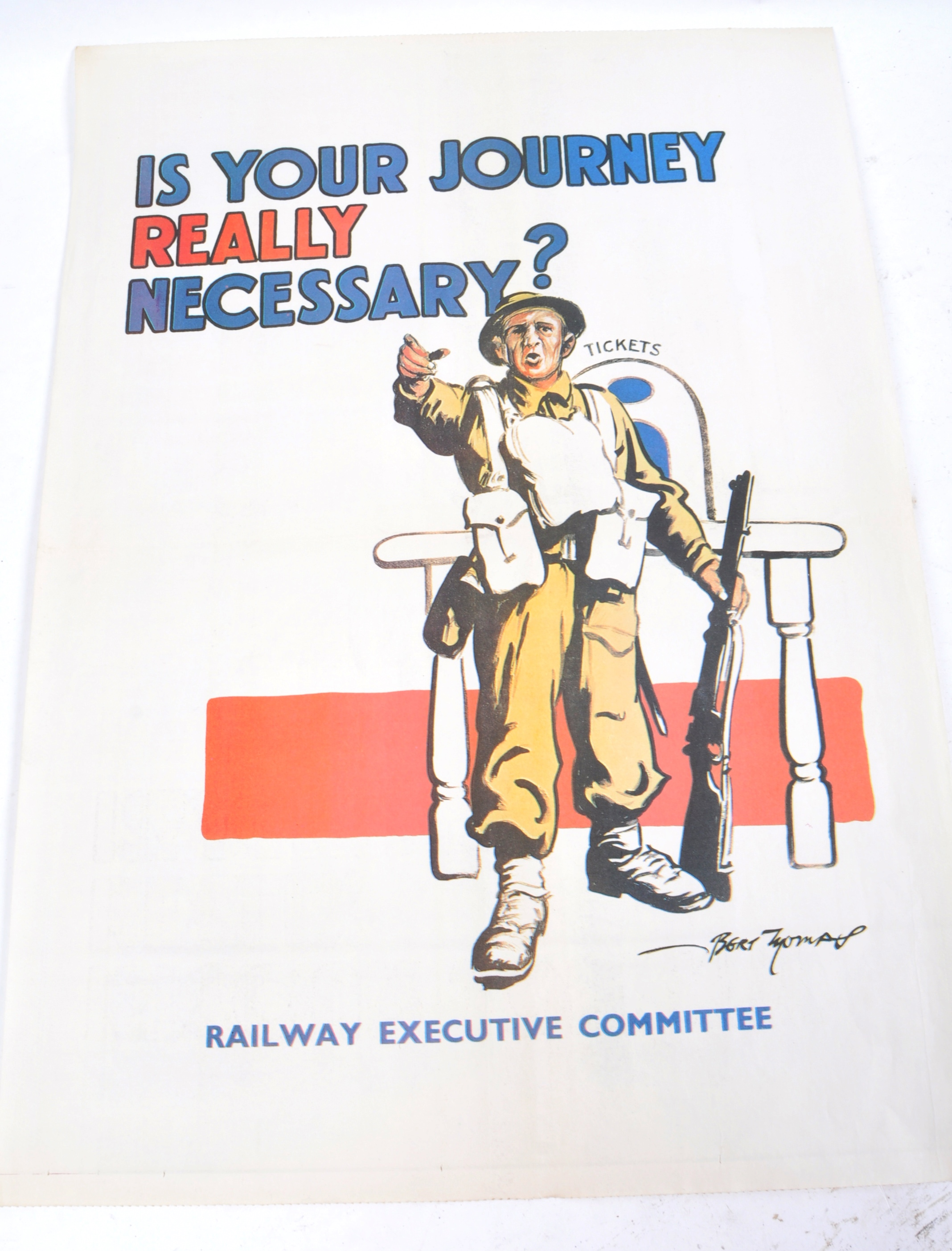 WWII SECOND WORLD WAR POSTERS - CHURCHILL, AFS, HOME FRONT ETC - Image 4 of 6