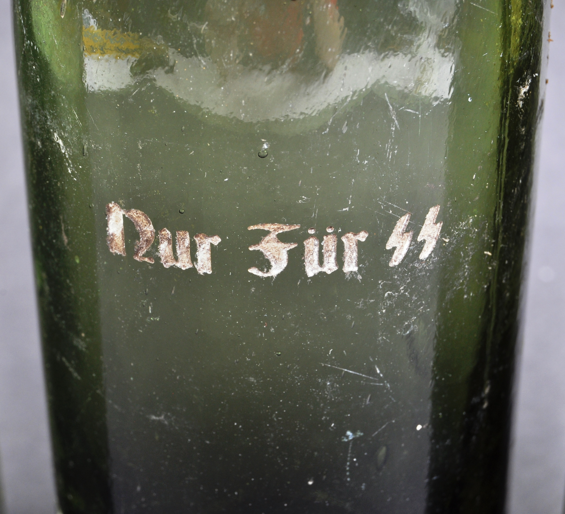 COLLECTION OF X4 GERMAN THIRD REICH SS BEER BOTTLES - Image 3 of 7