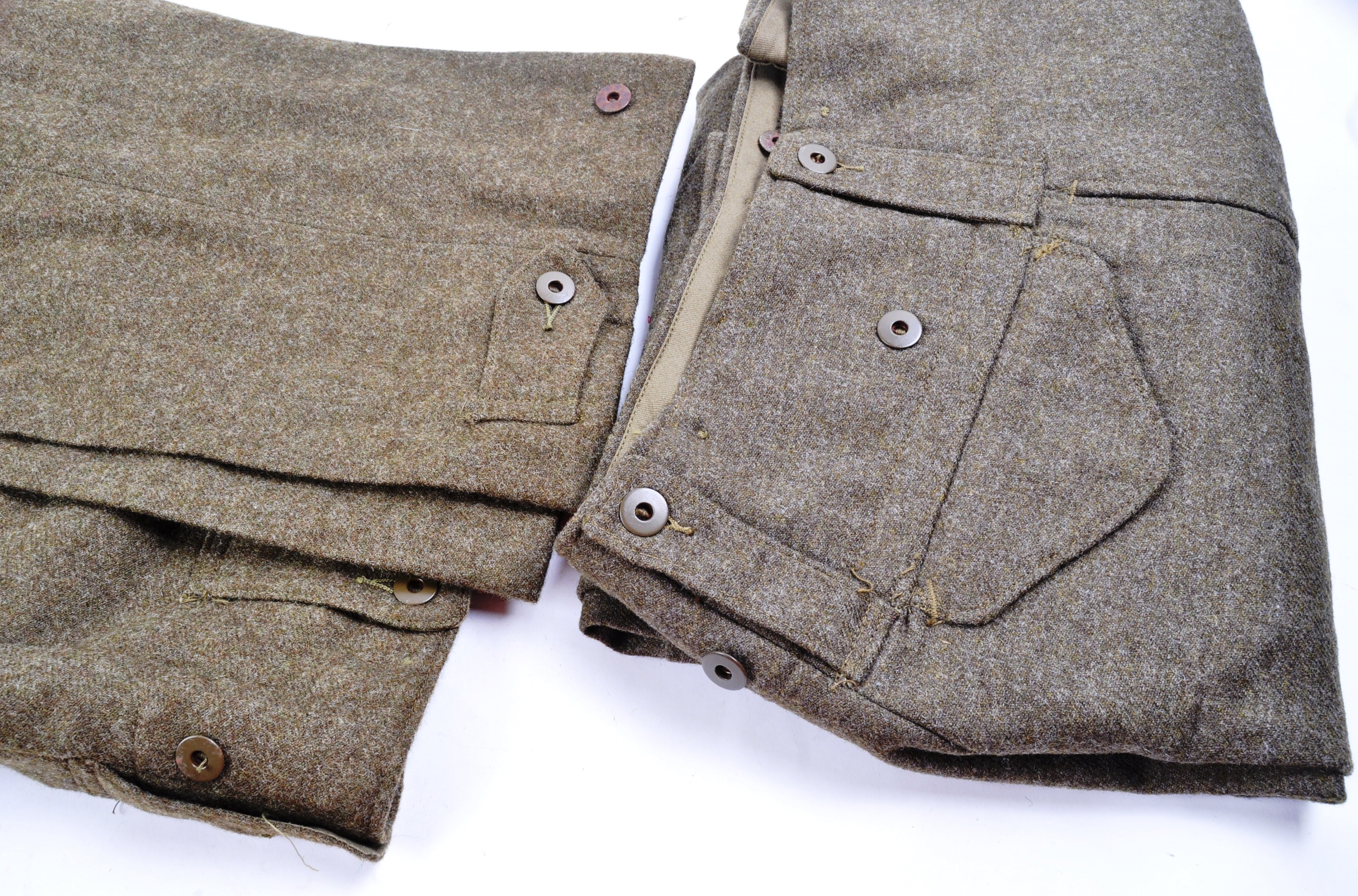 WWII SECOND WORLD WAR INTEREST - BRITISH ARMY TROUSERS - Image 6 of 7