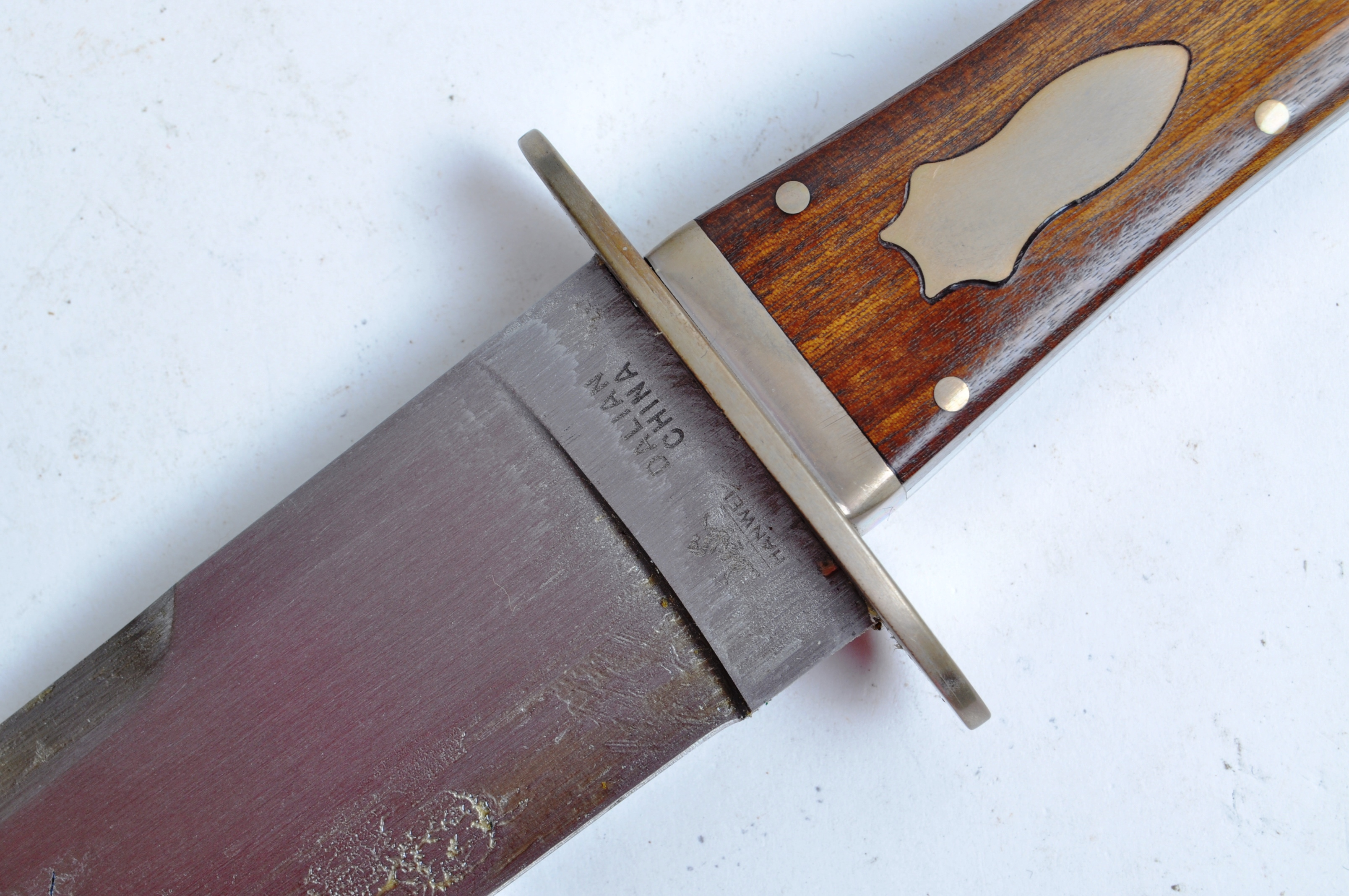 20TH CENTURY PAUL CHEN / HANWEI MADE BOWIE KNIFE - Image 6 of 12
