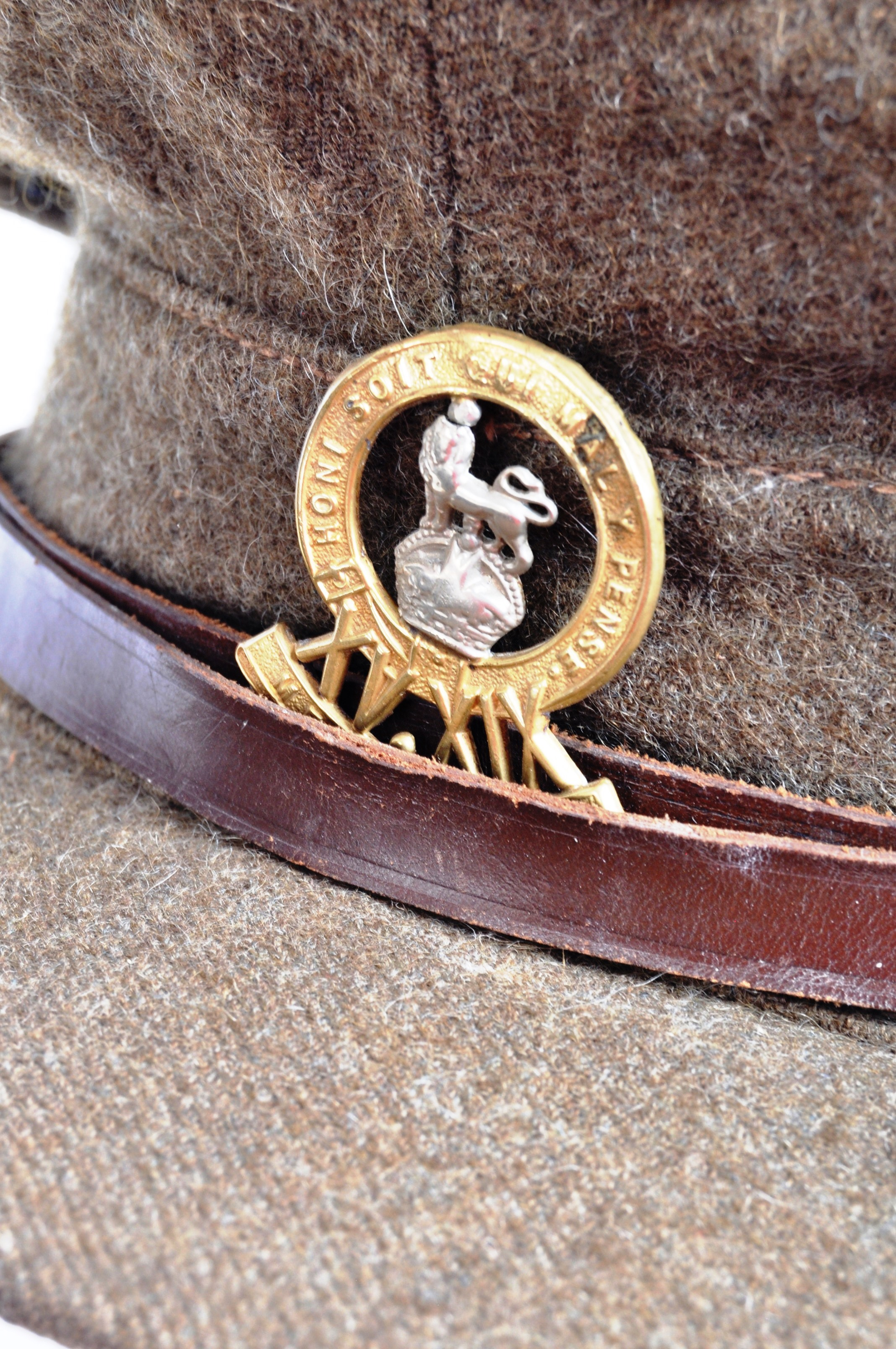WWI FIRST WORLD WAR PERIOD KING'S ROYAL HUSSARS CAP - Image 2 of 6