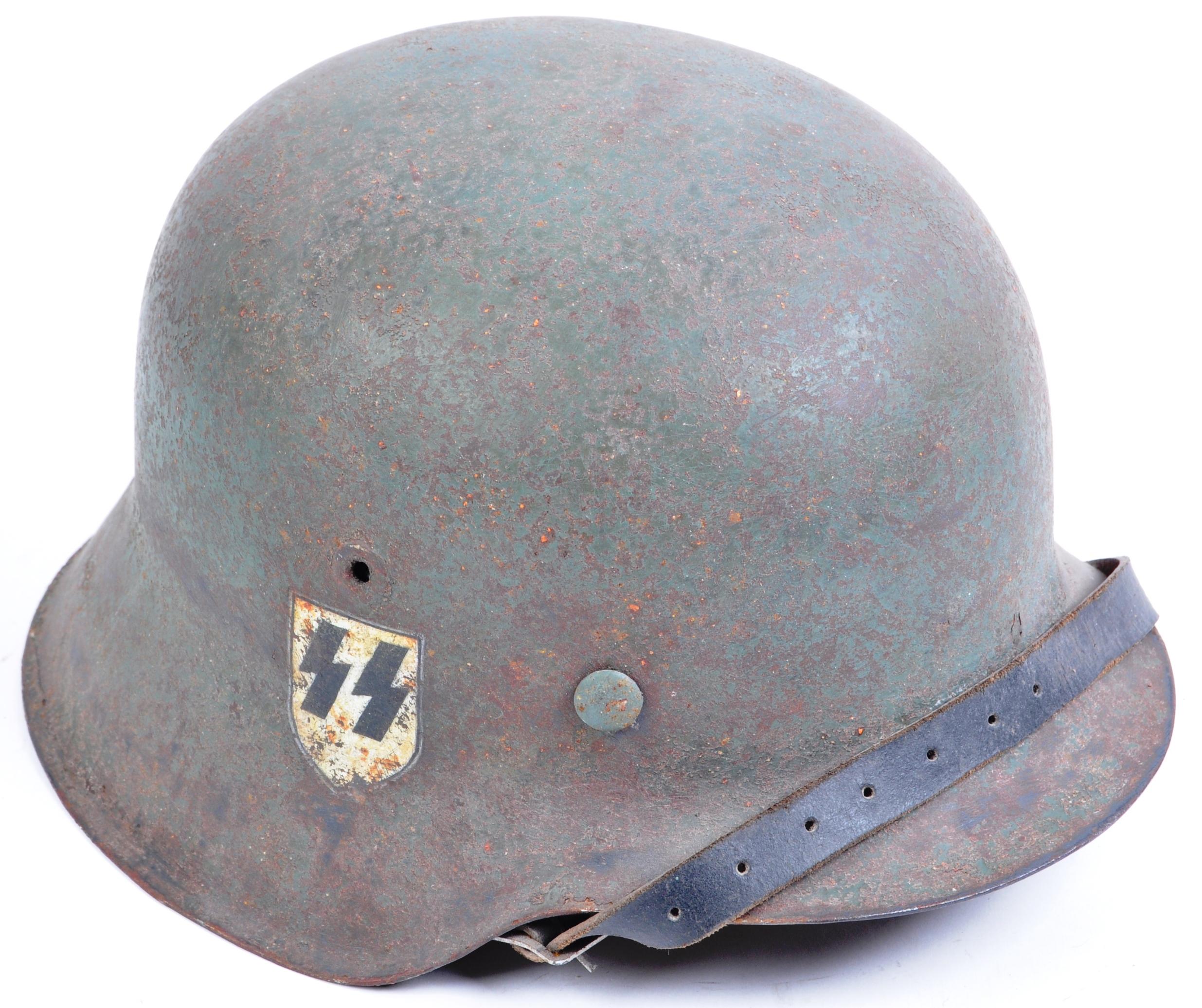 WWII SECOND WORLD WAR GERMAN THIRD REICH M42 COMBAT HELMET