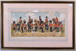 RICHARD SIMKIN - THE SCOTTISH REGIMENTS OF THE BRITISH ARMY
