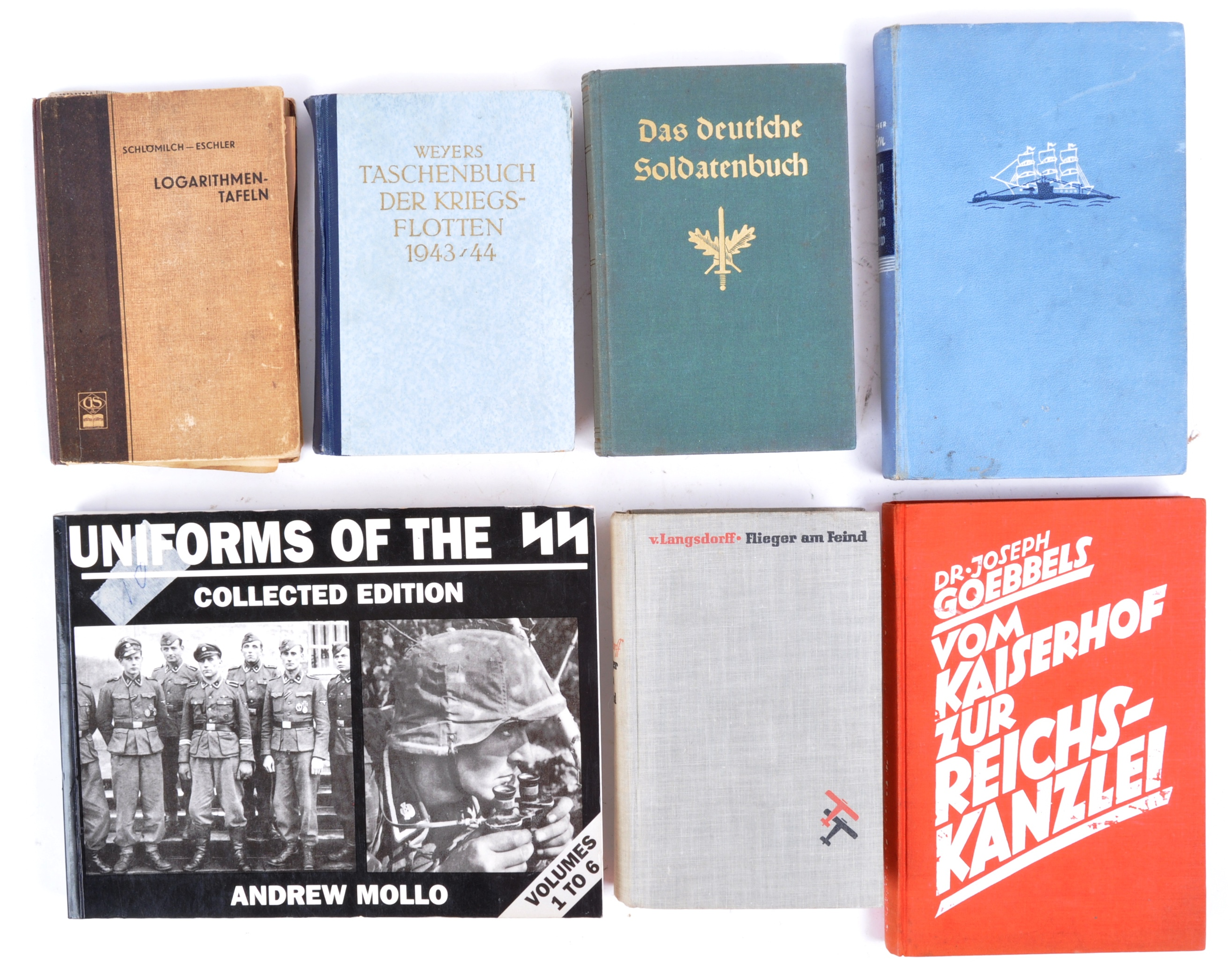 COLLECTION OF ASSORTED WWII GERMAN THIRD REICH BOOKS