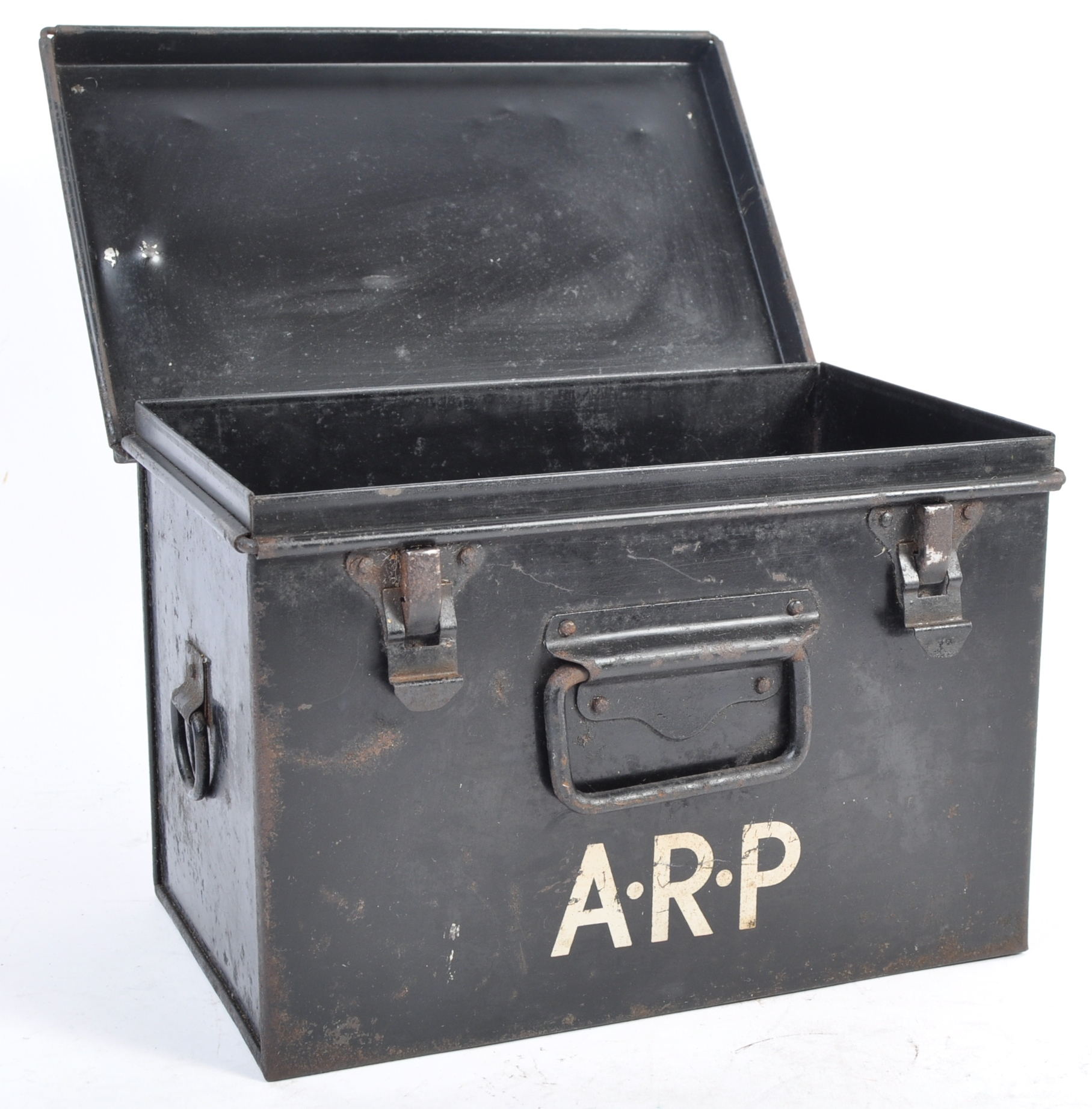 ORIGINAL WWII SECOND WORLD WAR AIR RAID PRECAUTIONS FIRST AID TIN - Image 2 of 8