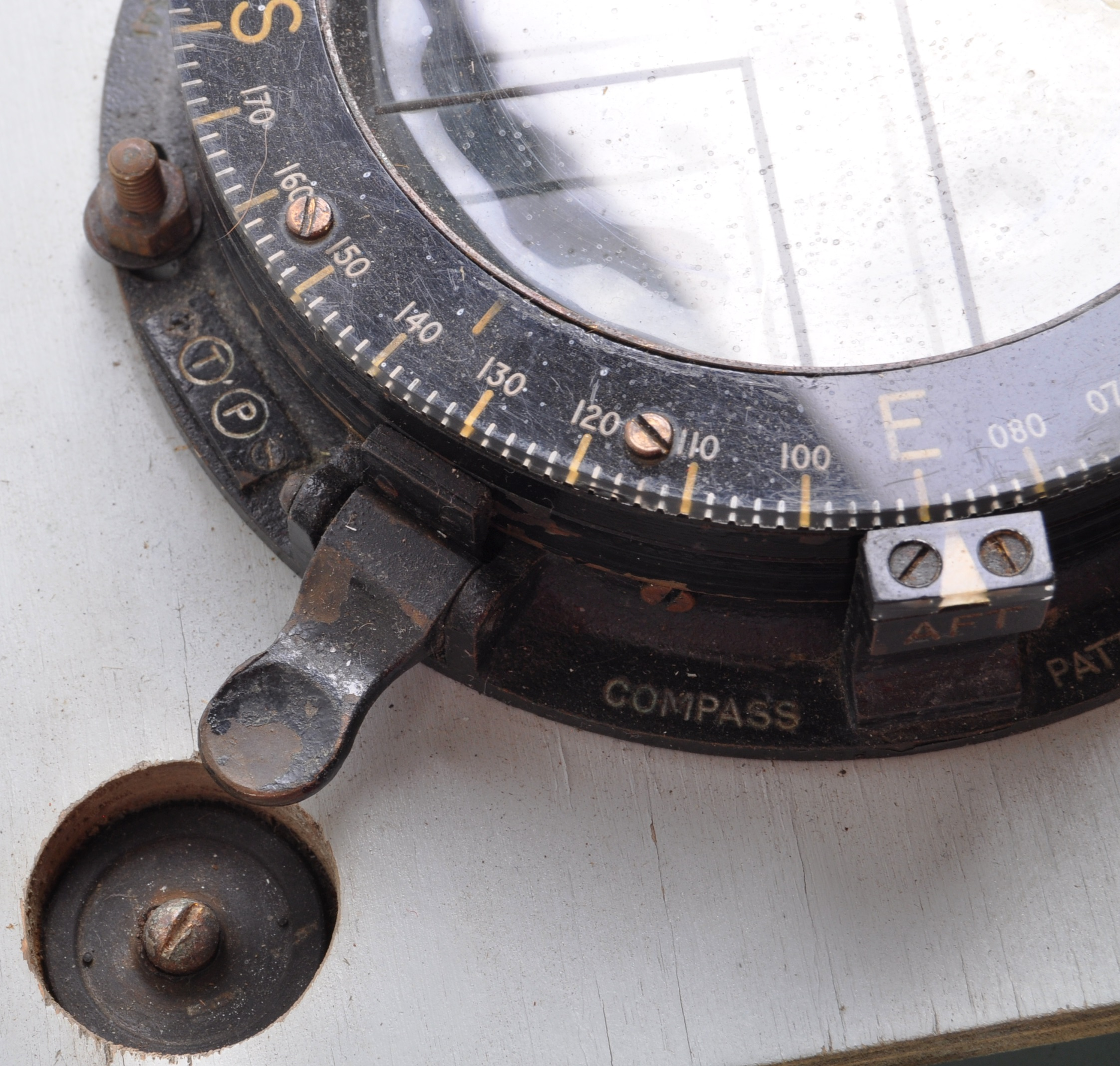 SCARCE WWII SPECIAL OPERATIONS ' CANOE COMPASS ' SLEEPING BEAUTY - Image 7 of 8