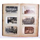 WWI FIRST WORLD WAR GERMAN PICTURE POSTCARD ALBUM