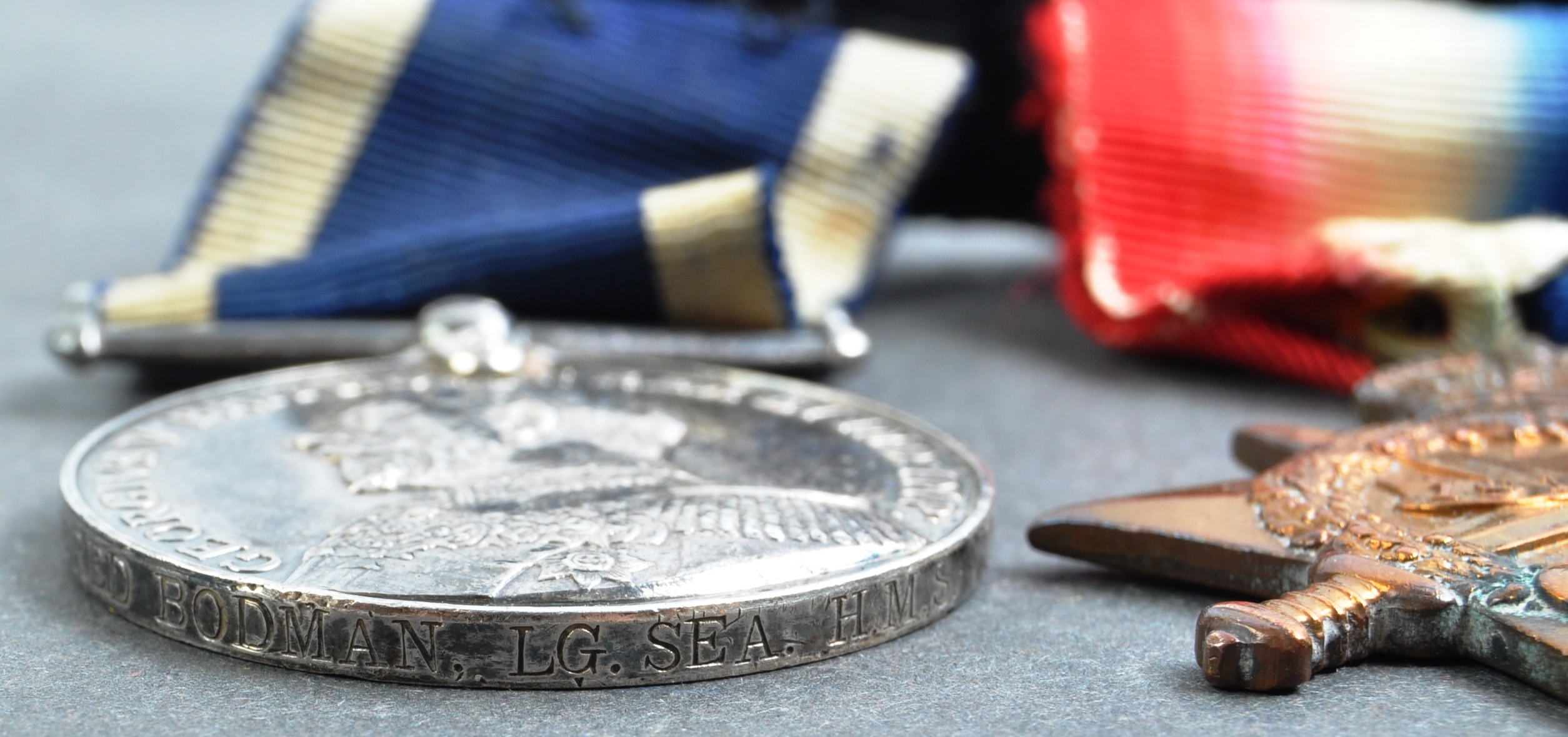WWI FIRST WORLD WAR MEDAL GROUP - LEADING SEAMAN ROYAL NAVY - Image 9 of 10