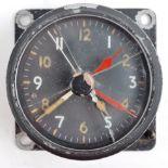 WWII SECOND WORLD WAR BRITISH RAF COCKPIT CLOCK