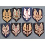 COLLECTION OF WWII SECOND WORLD WAR TYPE SAS PATCHES