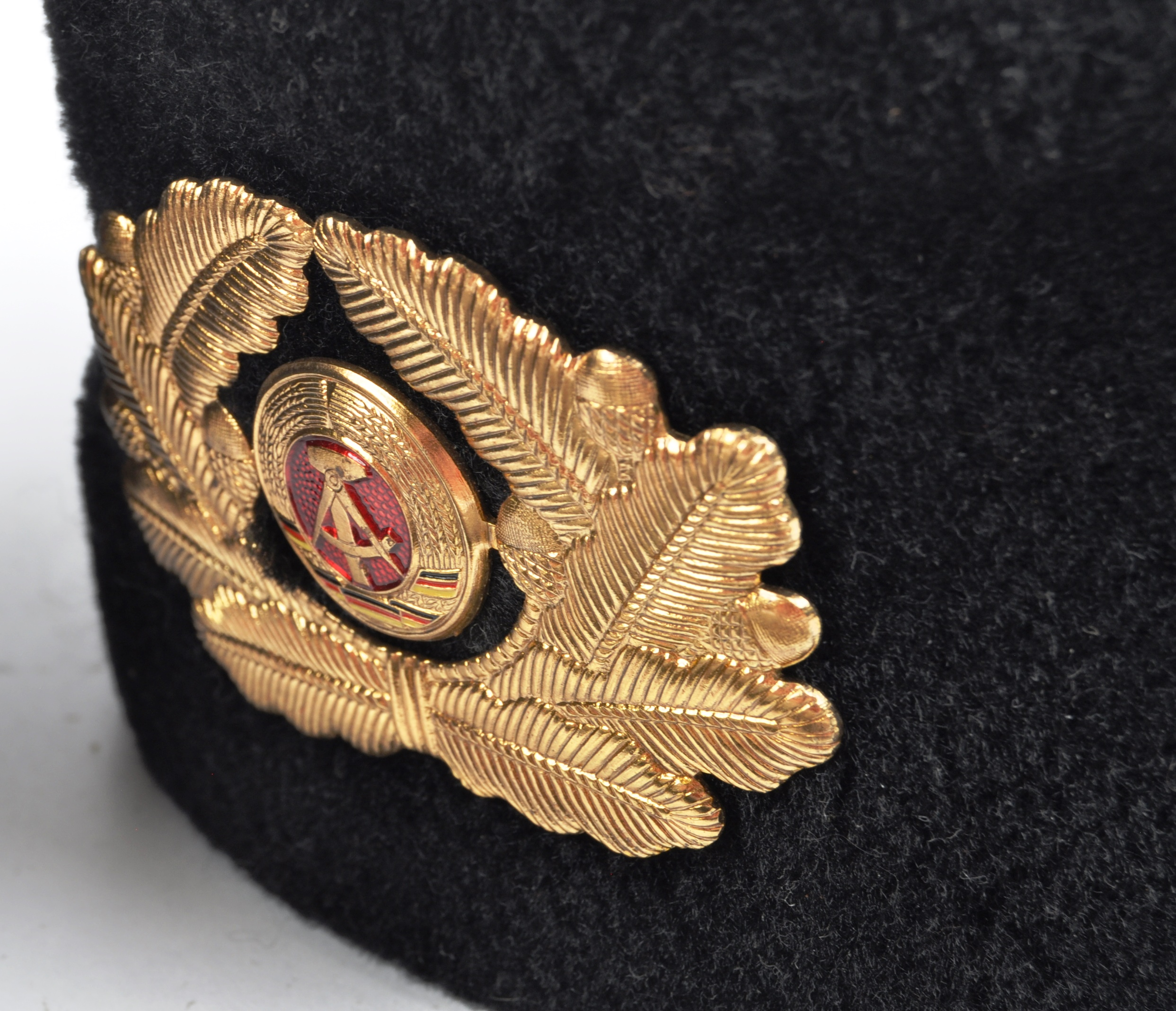 COLLECTION ASSORTED EAST GERMAN NATIONAL PEOPLE'S ARMY HATS - Image 2 of 11