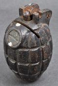 RARE WWI NO.23 MK.II MILLS BOMB MONEY BOX ROD GRENADE