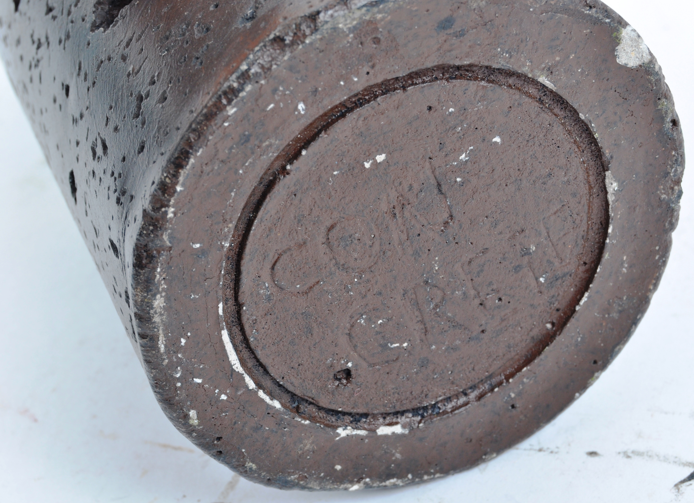 LARGE WWII VINTAGE BRITISH ARMY HIGH EXPLOSIVE PRACTISE ROUND - Image 4 of 5