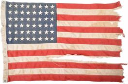 WWII SECOND WORLD WAR US ARMY FLAG - TORPEDO BOAT
