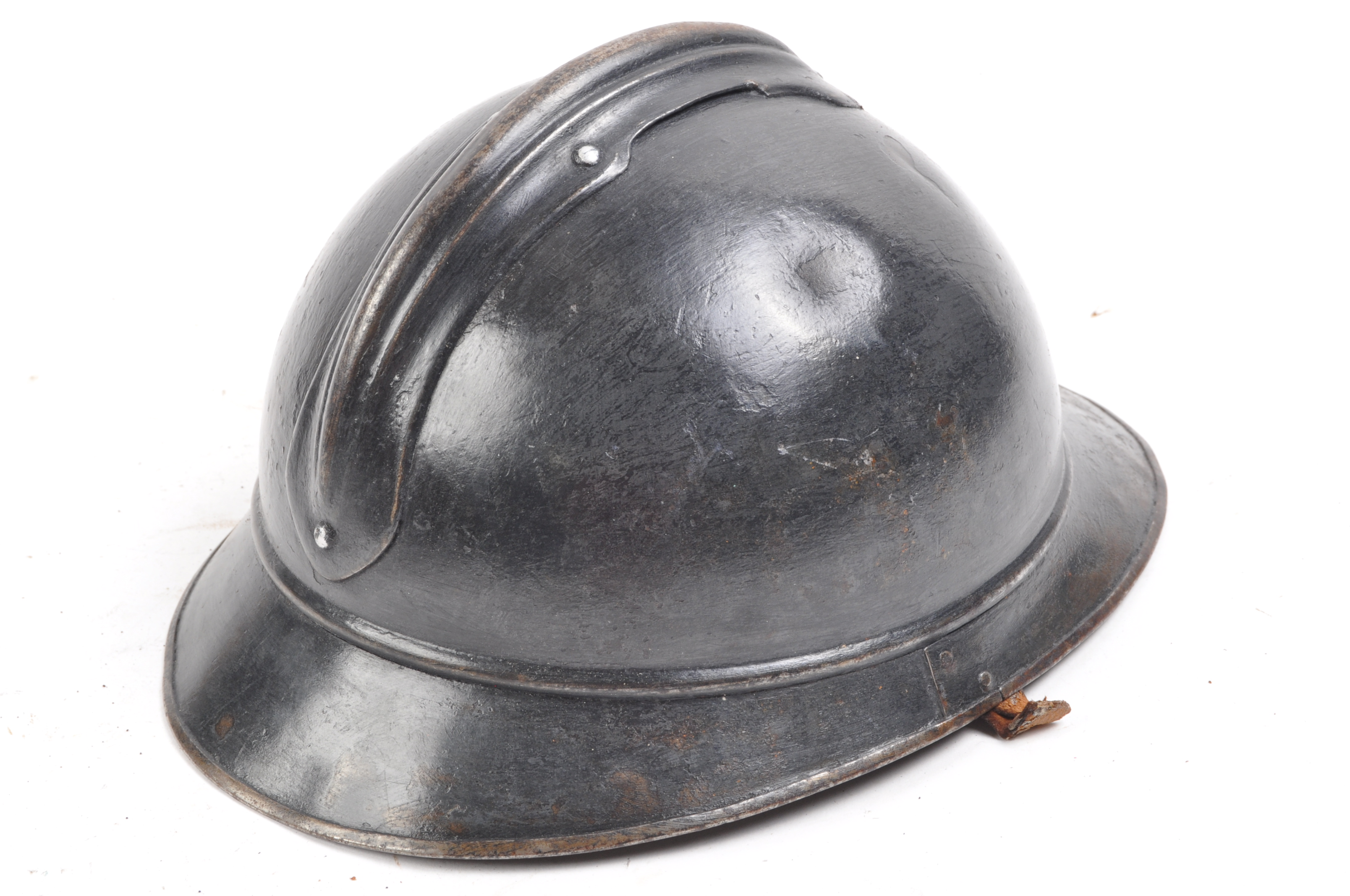 WWI FIRST WORLD WAR M15 PATTERN FRENCH ADRIAN HELMET - Image 3 of 5