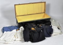COLLECTION OF POST WAR ROYAL NAVY COMMANDERS UNIFORM ITEMS