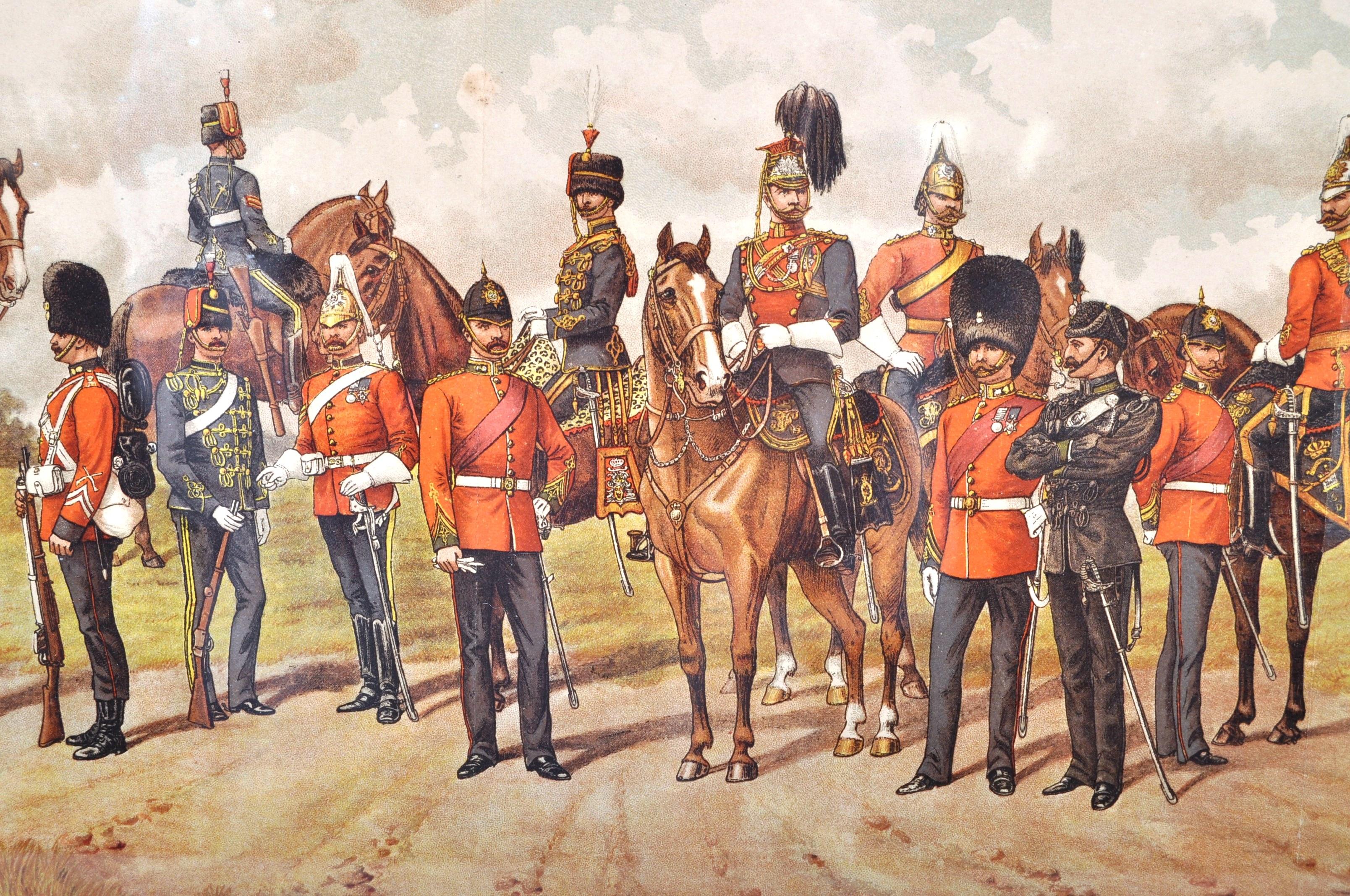RICHARD SIMKIN - THE IRISH REGIMENTS OF THE BRITISH ARMY - Image 2 of 7
