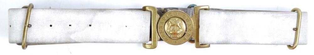 19TH CENTURY VICTORIAN GRENADIER GUARDS UNIFORM BELT