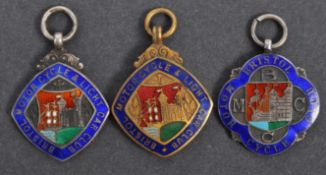 COLLECTION OF ANTIQUE MEDALLIONS - BRISTOL MOTORCYCLE CLUB