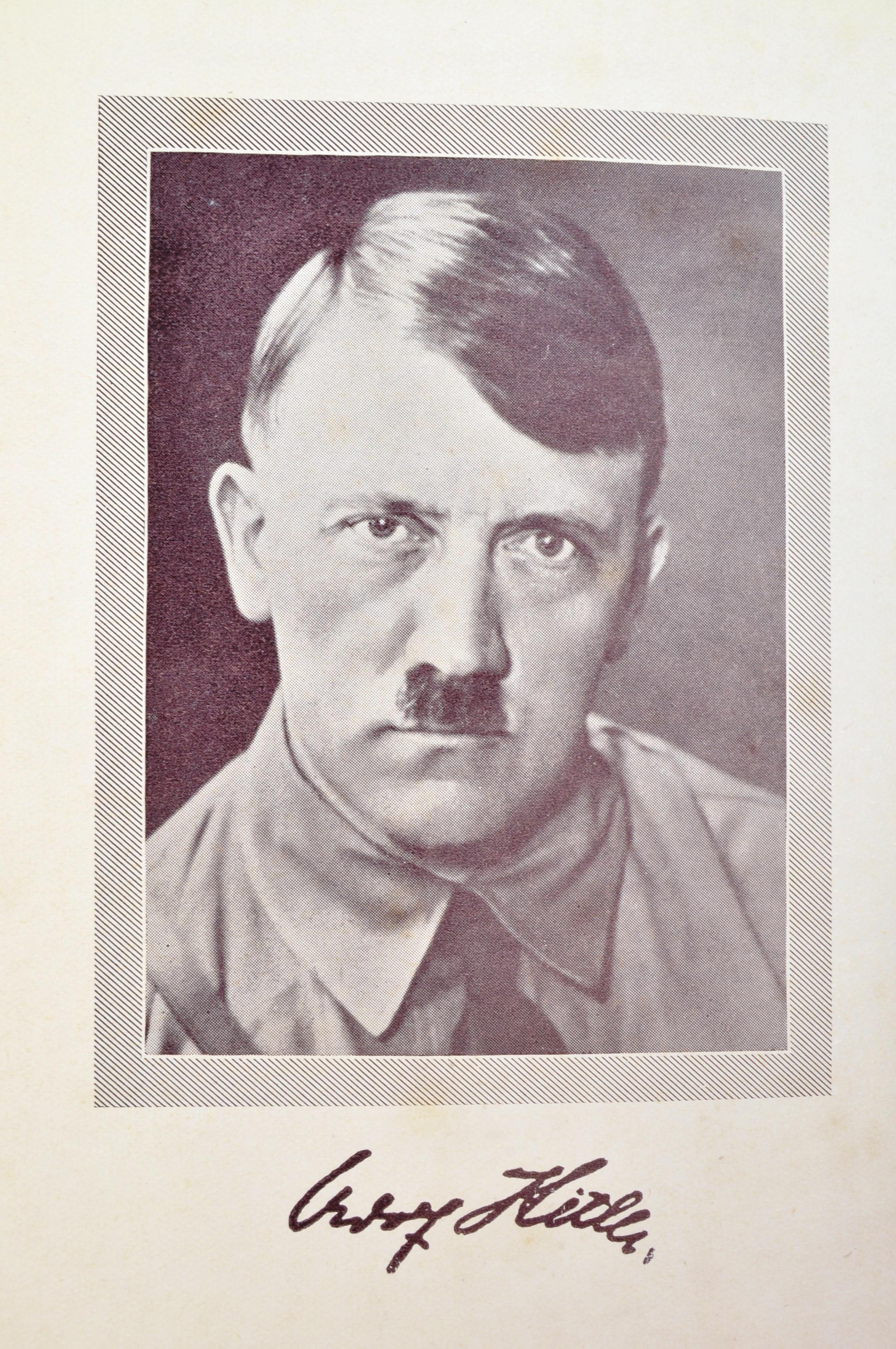 ADOLF HITLER - MEIN KAMPF - 1ST ENGLISH EDITION 1939 - Image 2 of 9