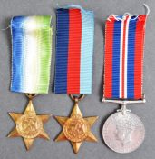 WWII SECOND WORLD WAR MEDAL GROUP - ROYAL NAVY KIA 1940