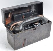 WWII SECOND WORLD GERMAN THIRD REICH FIELD TELEPHONE