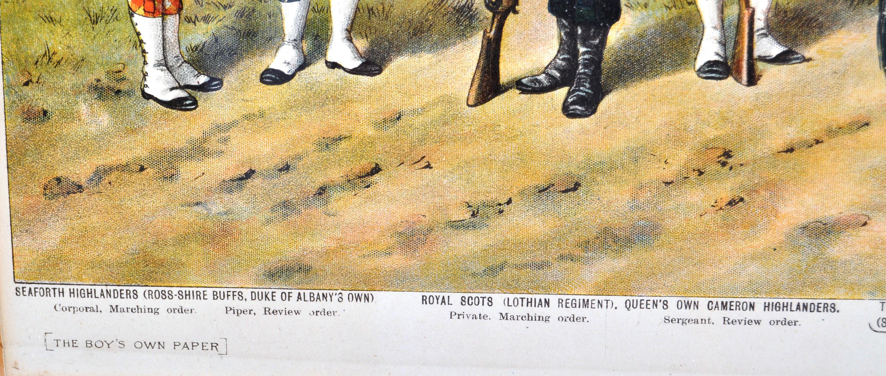 RICHARD SIMKIN - THE SCOTTISH REGIMENTS OF THE BRITISH ARMY - Image 4 of 7